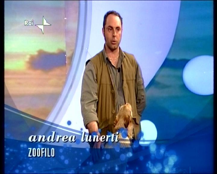 Andrea Lunerti Animali per la televisione